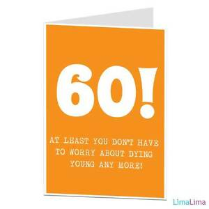 Happy birthday greetings cheeky card funny rude 60th 60 age related image is loading happy birthday greetings cheeky card funny rude 60th m4hsunfo