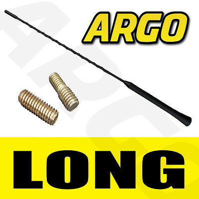 RUBBER BLACK REPLACEMENT BEE STING AERIAL ANTENNA MAST PEUGEOT 207 CC CABRIOLET