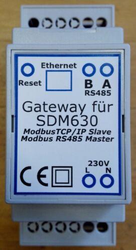 Contatore Gateway 2x sdm630 Modbus TCP Trifase Contatore Smart Home loxone openhab