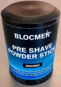 Blocmen Pre Shave Powder Stick Suitable For All Electric Shavers