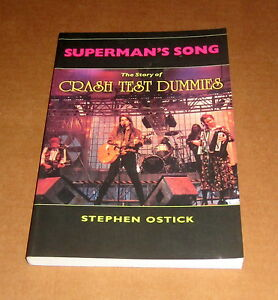 CRASH-TEST-DUMMIES-SUPERMAN-039-S-SONG-Folk-Alternative-Rock-PSYCHEDELIC-Winnipeg