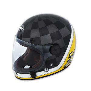 DUCATI-Bell-Scrambler-Check-Ace-Integralhelm-Helm-Helmet-schwarz-LIMITED-NEU