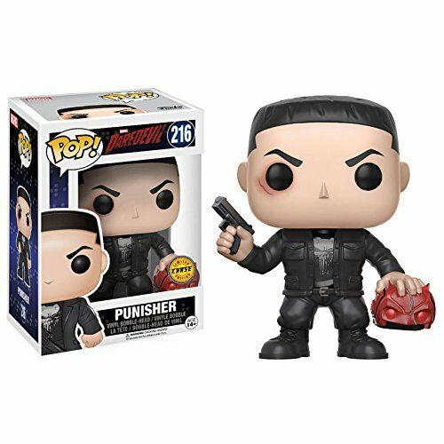 Pop  Marvel Darossoevil TV  Punisher Chase  216 Vinyl cifra divertiessitoko
