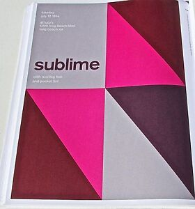 Sublime-Concert-Poster-Reprint-1994-Long-Beach-CA-Framable-Artwork-13x10