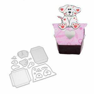 Box Metal Cutting Dies Candy Box for DIY Scrapbook Embossing Paper Craft