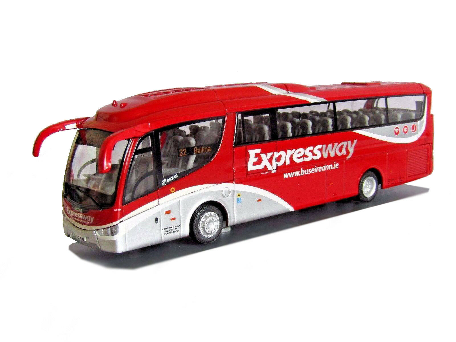 Corgi OOC Scania Irizar PB Bus Eireann Expressway Ballina 1 76 Scale CP46213B