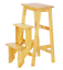 HGF-SS-001CP-Folding-Wooden-Step-Stool-Chair-stepladder-Cappuccino-moq100pcs