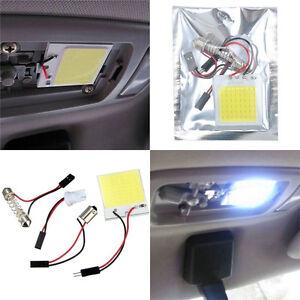 48-SMD-s-n-LED-T10-BA9S-4W12V-blanc-voiture-lumiere-panneau-interieur-plafonniBB