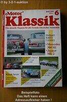Motor Klassik 6/91 DB 300 SE Jaguar Mk 2 Iso Ferrari