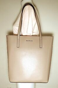 a83d185adf09 Image is loading Michael-Michael-Kors-Emry-Large-Convertible-Biaque-Leather-