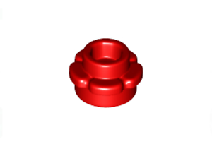 LEGO: 1 X 1 Plate with Flower Edge // 5 Petals X20 24866 Various Colours.