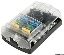 Osculati Polycarbonate 6 Fuse Holder Box for Standard Fuses 125x85mm