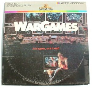 Vintage-Missile-Waring-War-Games-1983-Laserdisc-Extended-Play-Stereo