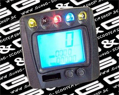 Universal LCD Digital Tacho QUAD ATV BUGGY GO-KART Motorrad Streetfight Roller