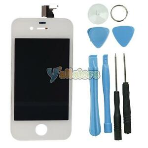 White-Replacement-LCD-Touch-Screen-Digitizer-Glass-Assembly-for-iPhone-4-GSM-Ver