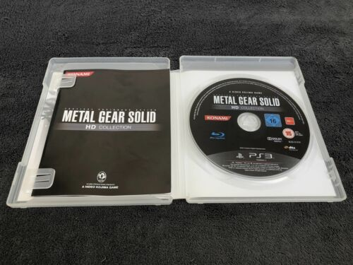 PS3 Metal Gear Solid HD Collection FRA Excellent état