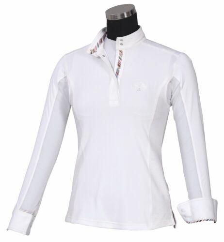 Equine Couture Femmes Cara à manches longues Show Shirt