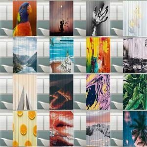 180x180cm-Textil-Dusch-Vorhang-3D-Gedruckt-Wasserdicht-Bad-Vorhang-incl-Haken