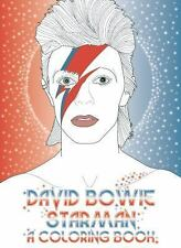David Bowie - Starman : A Coloring Book by Laura Coulman (2016, Paperback)