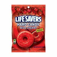 Life Savers Wild Cherry Hard Candy Bag 6.25 Ounce (12 Packs) Free Shipping