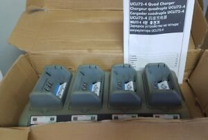 OEM Zebra UCL 172-4 Quad Charger WITHOUT Power Cord