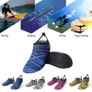 Details about Unisex Water Shoes Diving Boating Socks Non-slip Swim Beach  Sea Shoe Soft Rubber