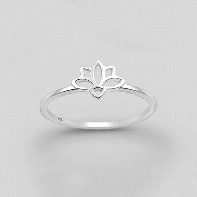 Rose gold skinny stacks Zen Reiki gift Lotus flower ring Tri-color narrow rings Gold narrow Rings Yoga jewelry Dainty Lotus stacks