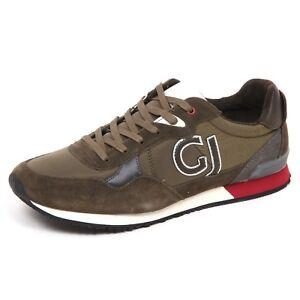 d9d6ba0c559b E5322 sneaker uomo green GAUDI  JEANS scarpe suede tissue shoe man ...