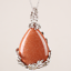 Natural-Quartz-Crystal-Stone-Teardrop-Flower-Healing-Gemstone-Pendant-Necklace thumbnail 16