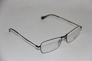 01e4c4da11 NEW Authentic Ray Ban RB 6253 2760 Gloss Black 52mm RX Eyeglasses ...