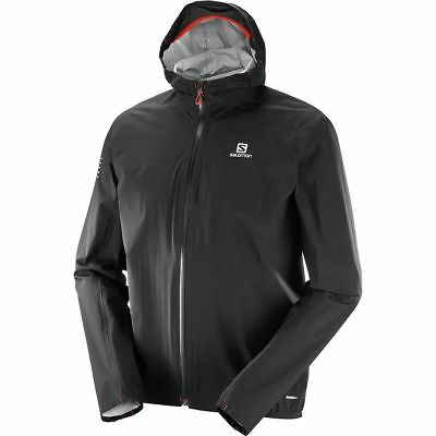 NEW! Salomon Bonatti WP Men's Hikes Running Jacket L39268400 Color Black X Large | eBay