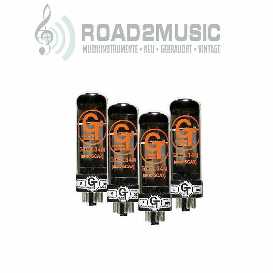 Groove Tubes tubo el34 m matched Quartet Medium Medium Medium  solo cómpralo