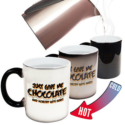 Funny Novelty Apron Kitchen Cooking Just Give Me The Coffee And Nobody Gets Hu