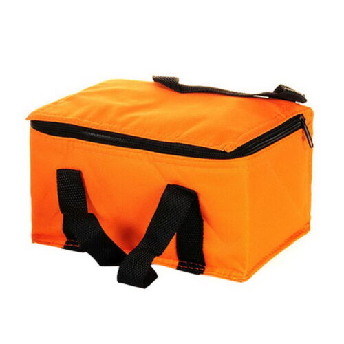 Insulated Thermal Cooler Bag Lunch Box Sandwich Drink Cool Storage Chilled Zip