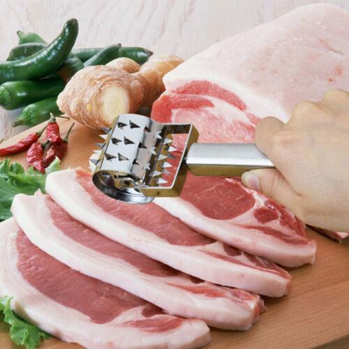 Viande Rolling Pounder Attendrisseur Steak Viande de porc Boeuf Tender Roller punch aiguille