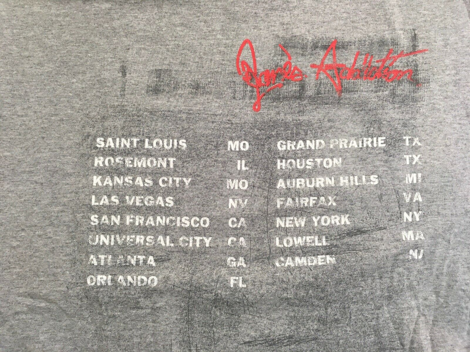 Vintage Janes Addiction Strays  Concert Tour Dave… - image 4
