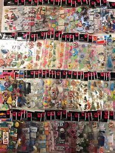 Huge-Lot-20pk-SandyLion-Essentials-3D-Scrapbooking-Stickers-NO-DUPS