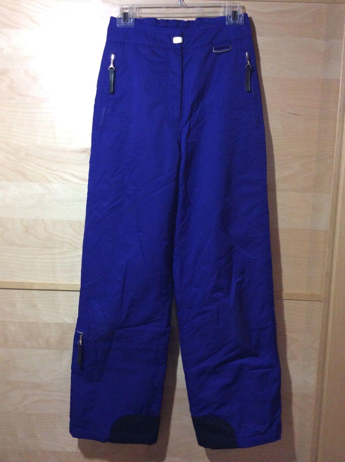 Couloir Metropolis Women bluee Ski Snow Pants 6, Pre-owned