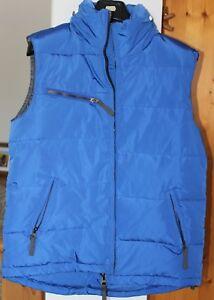 Details zu ärmellose Daunenjacke von Witty Knitters, Gr. M, blau, neue
