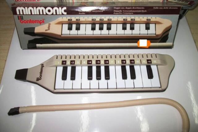 BONTEMPI DIAMONICA MELODICA CLAVIETTA minimonic Tastiera polifonica 20 Tasti