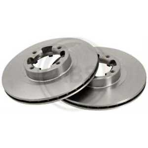 A-B-S-2x-Brake-Discs-Vented-15656