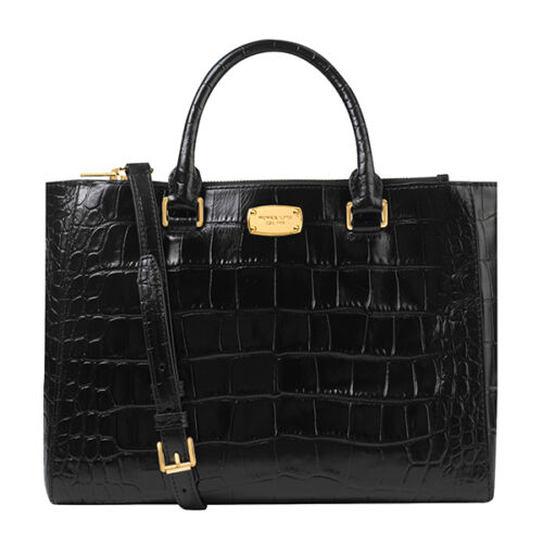 michael kors emry lg ns tote leather cement handtasche. Black Bedroom Furniture Sets. Home Design Ideas