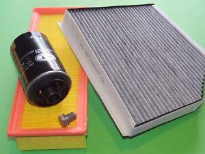 132kW//180PS Ölfilter Luftfilter Pollenfilter Skoda Octavia 1.8 TSI 5E