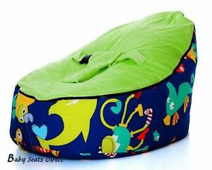 Sensational Details About Baby Beanbag Baby Seat Baby Chair Blue Color Siclered Baby Bean Bag No Fillings Bralicious Painted Fabric Chair Ideas Braliciousco