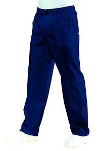 Pantalone-con-elastico-ISACCO-Blu-Cina