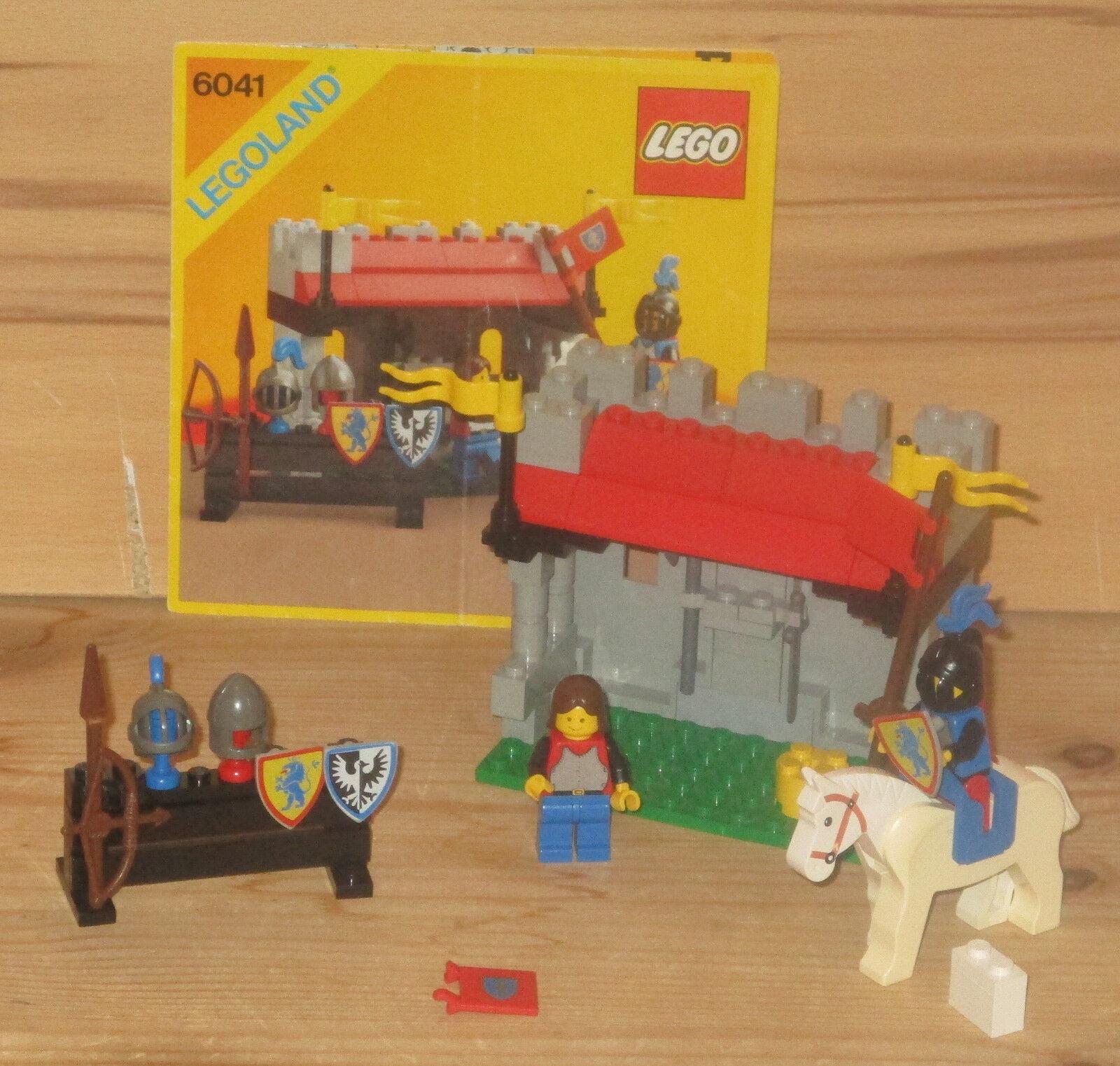 Lego 6041 Legoland Lion Knights – Rüstungsgeschäft, mit OBA