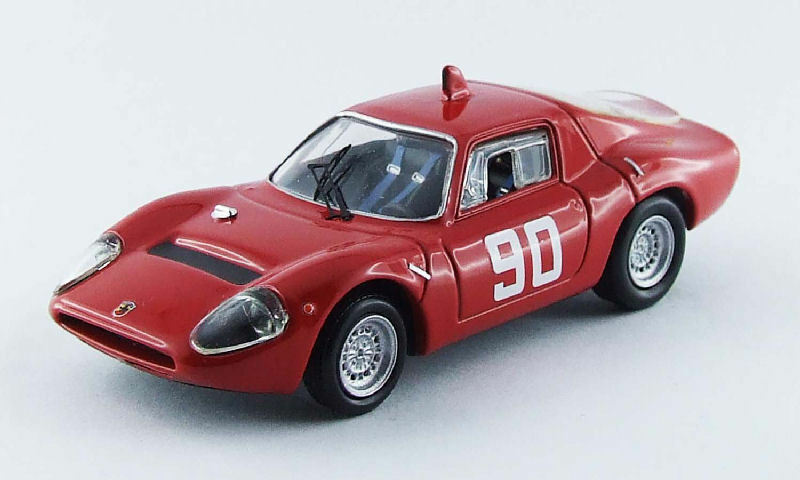 Abarth Ot 1300  90 11th Circuito Mugello 1967 Nesti   Hezemans   Furtmayr 1 43