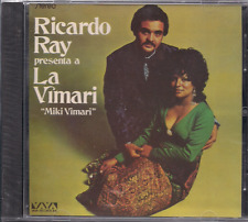 Salsa RARE CD FANIA First Pressing RICARDO RAY presenta a LA VIMARI felices dias