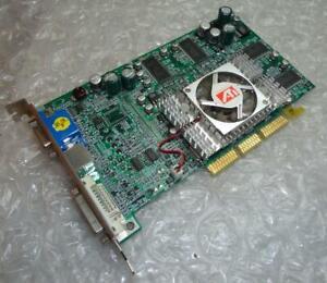 128 Mo PowerColour RV25A-C3 ATI Radeon 9000 Pro DVI VGA AGP vintage carte graphique