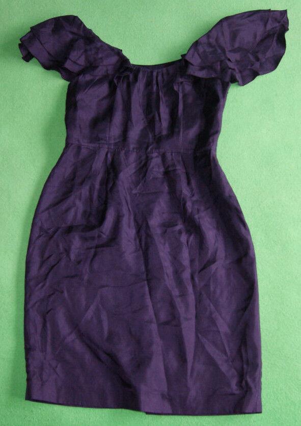 Coast purple purple elegant party ocasion dress for women size 8